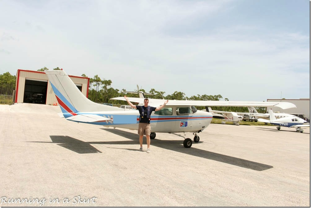 Flying to the Bahamas, Cessna 210 Marsh Harbor Airport