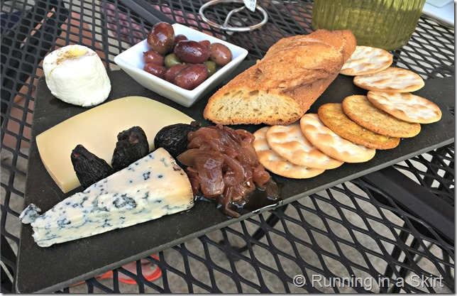 sante cheese plate
