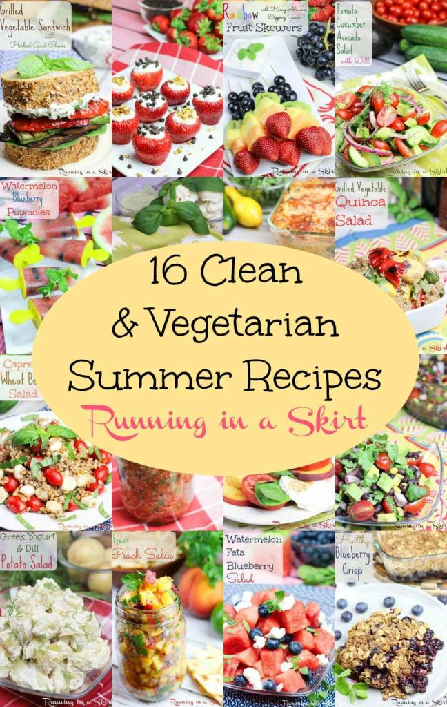 16 Clean Eating & Vegetarian Summer Recipes 2