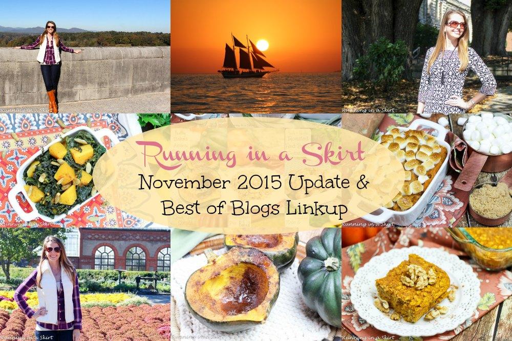 November 2015 Update & Best of Blogs Linkup