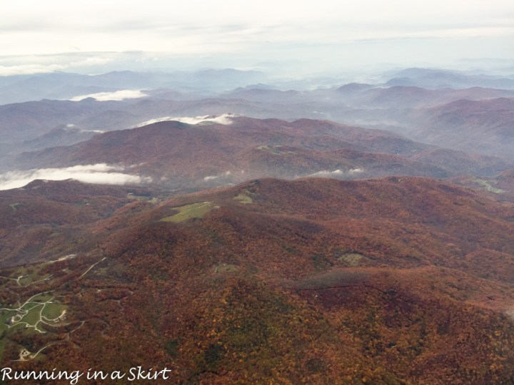 Fall Color in WNC for plane/ Running in a Skirt