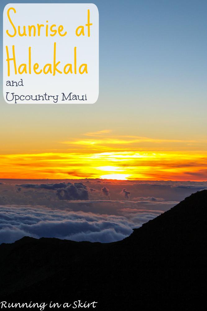 Sunrise at Haleakala and Upcountry Maui