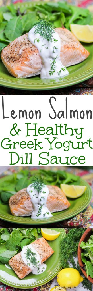 Greek Yogurt Dill Sauce for Salmon