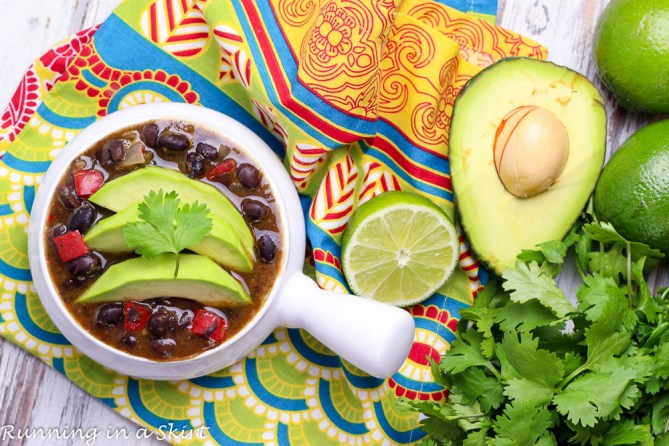 Easy Crock Pot Black Bean Soup-42-4