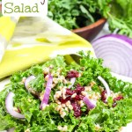 Kale and Wheat Berry Salad / Running in a Skirt