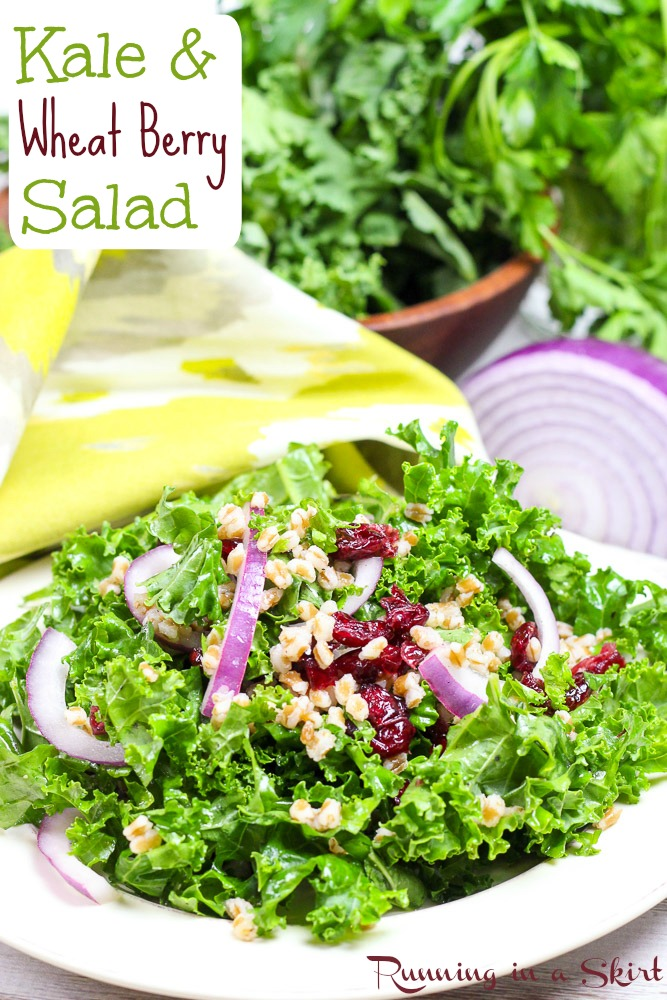 Kale and Wheat Berry Salad