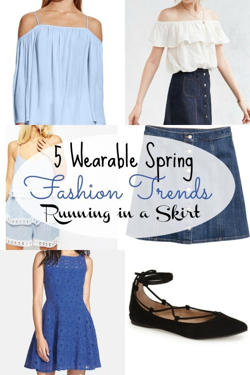Spring Fashion Trends 2016 that you will actually want to wear/ Running in a Skirt