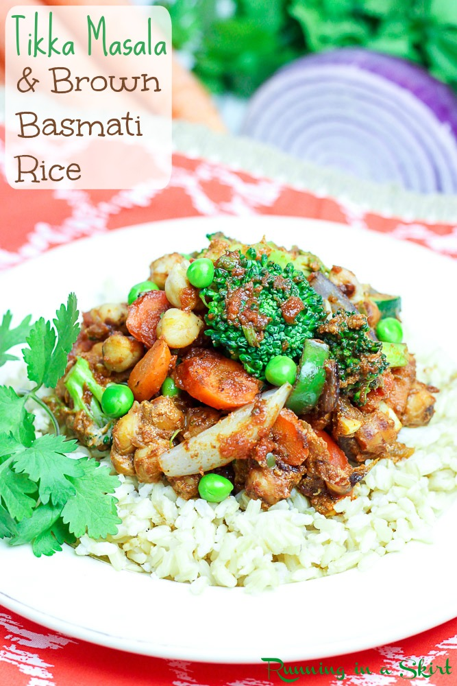 Tikka Masala with Brown Basmati Rice from 80 Fresh