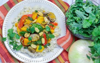 Vegetarian Crock Pot Red Curry recipe