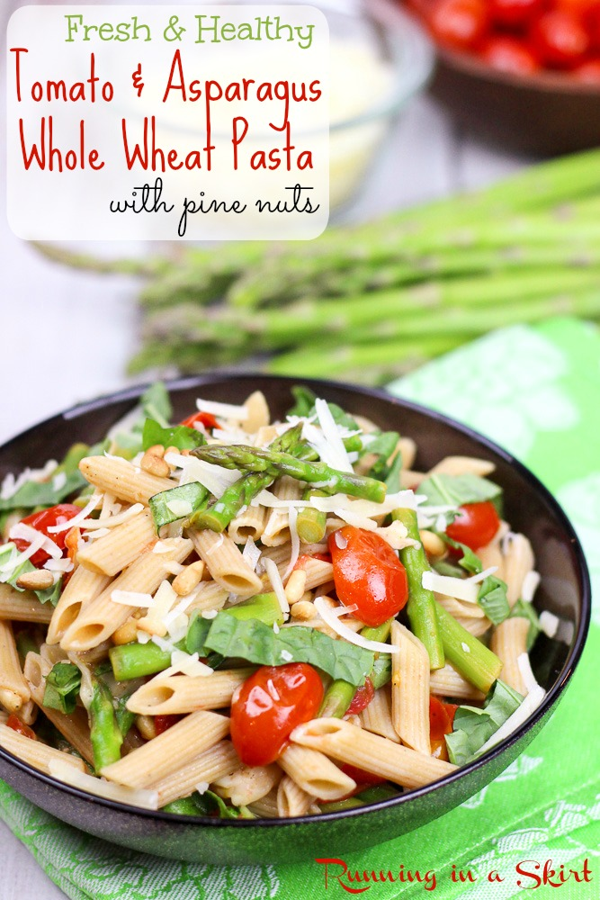 Fresh Tomato And Asparagus Pasta Recipe