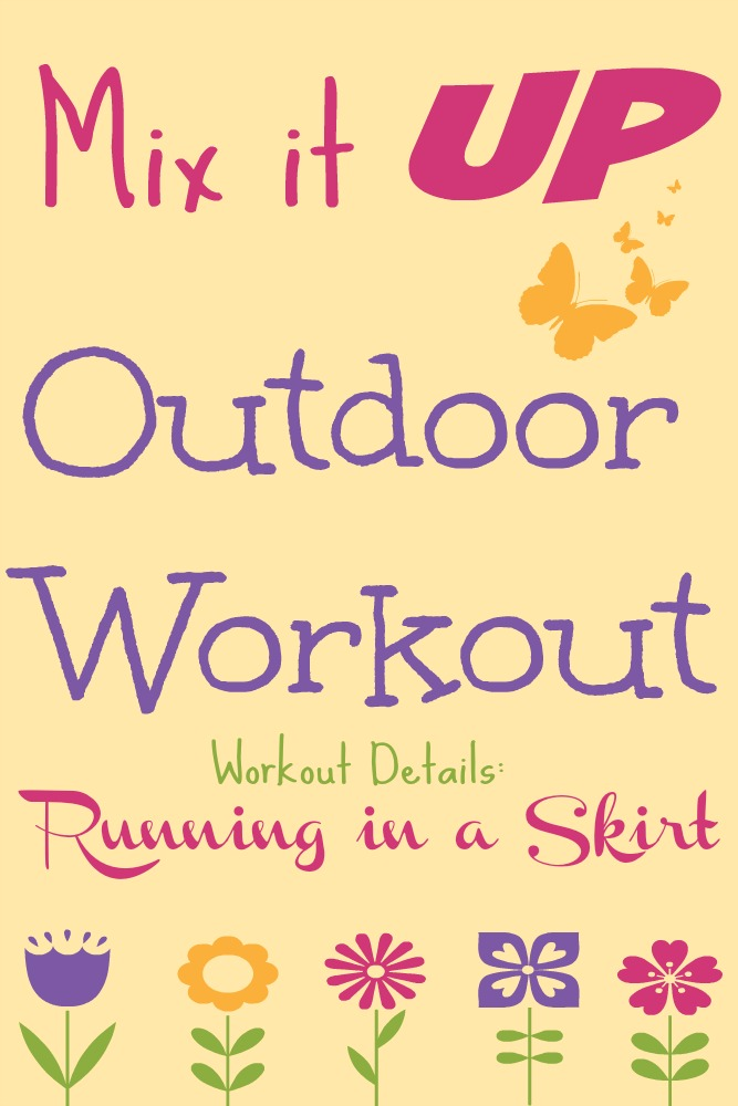 Mix It Up Outdoor Workout Fitness