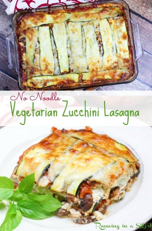 no noodle vegetarian zucchini lasagna