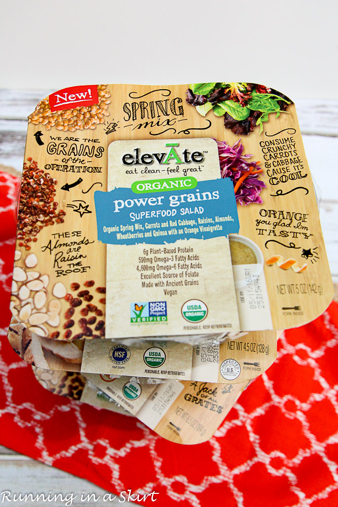 Elevate Salads & Lunchtime Workout