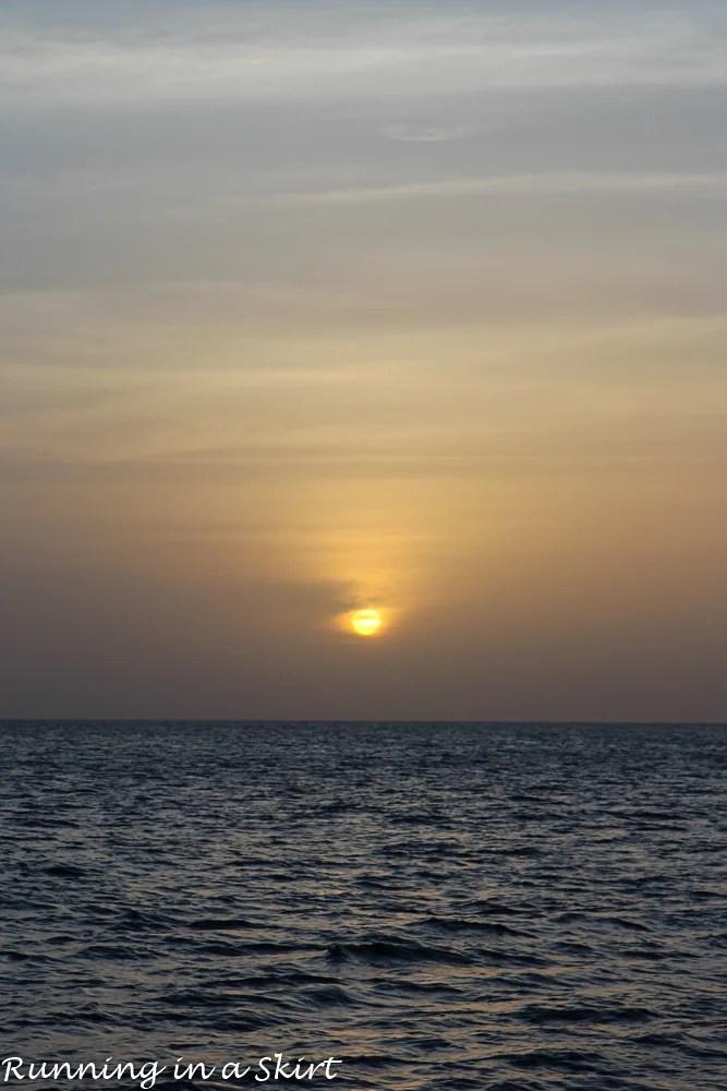Grenada sunset