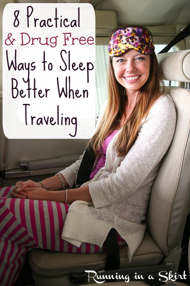 8 Practical and Drug Free Ways to Sleep Better When Traveling, avoiding jet lag & Sleep Swag