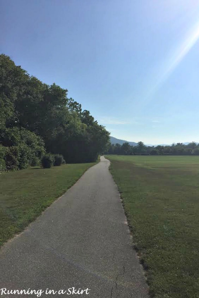 Running in Heat & Humidity no shade
