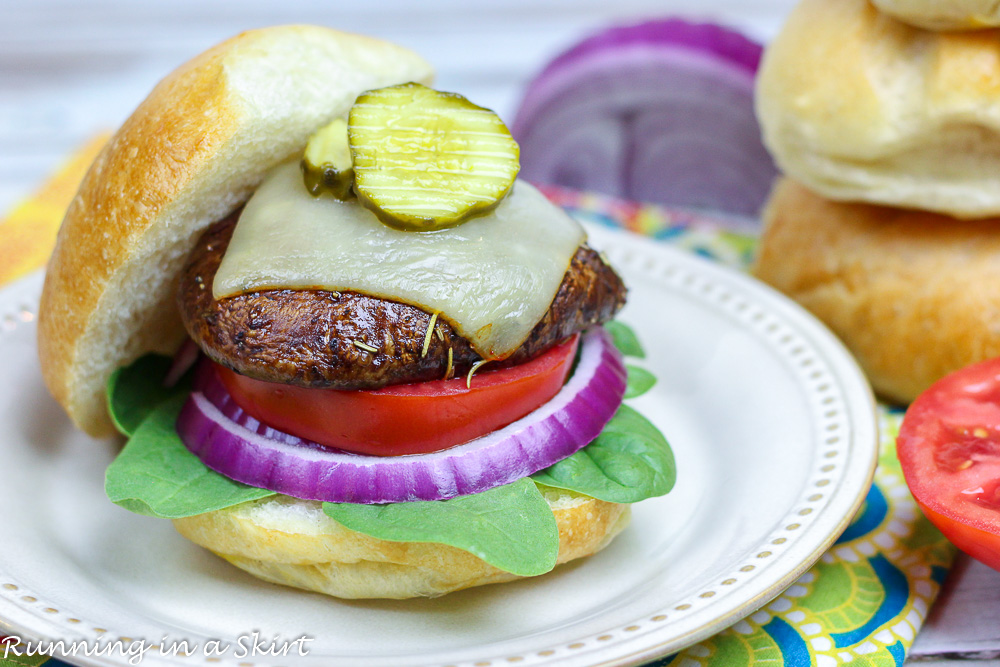 The Best Portobello Mushroom Burger recipe
