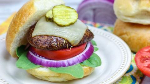 The Best Portobello Mushroom Burger recipe
