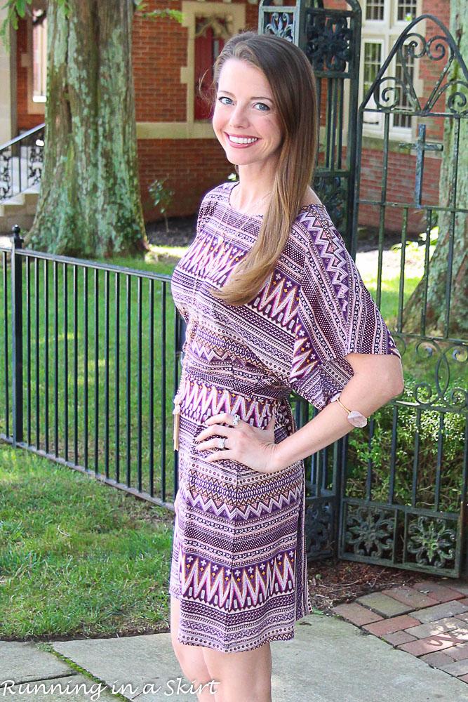 Short Kimono Sleeve dress-12-1