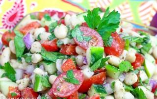 Vegan White Bean Salad recipe