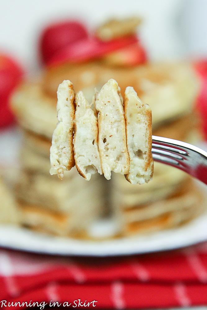 Apple Pie Greek Yogurt Pancakes Healthy-70-7
