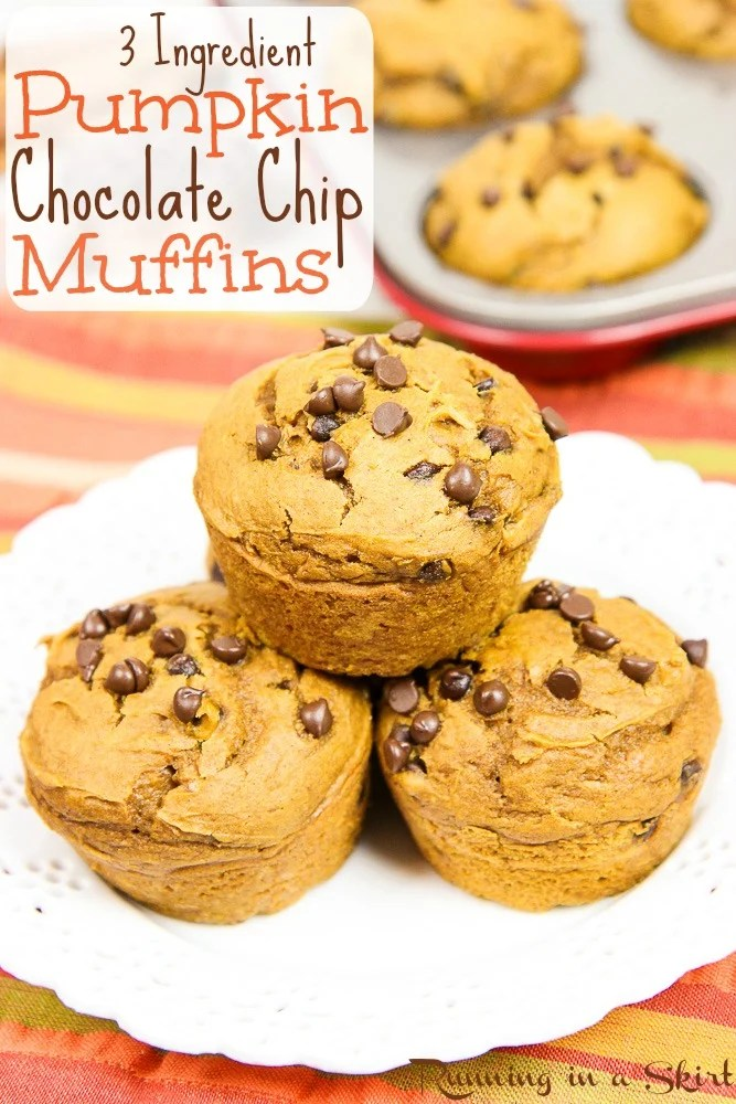 3-ingredient-pumpkin-chocolate-chip-muffins-simple