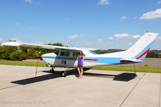 How I Made the Bold Decision to Fly in a Small Airplane…