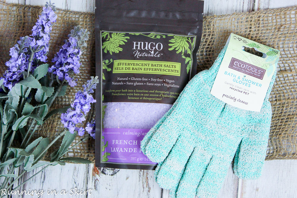 Galentine's Day Gifts - easy DIY gift baskets from iherb / Running in a Skirt