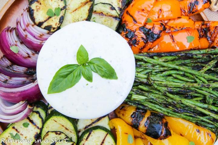 The Best Vegetarian Cookout Menu / Running in a Skirt