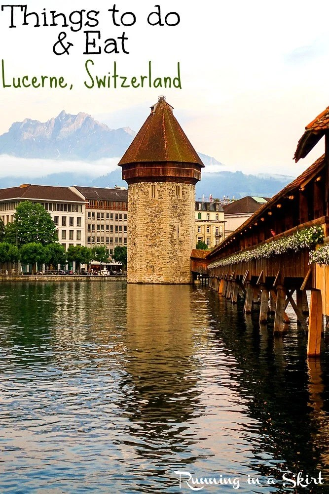 Things to do in Lucerne Switzerland / Running in a Skirt