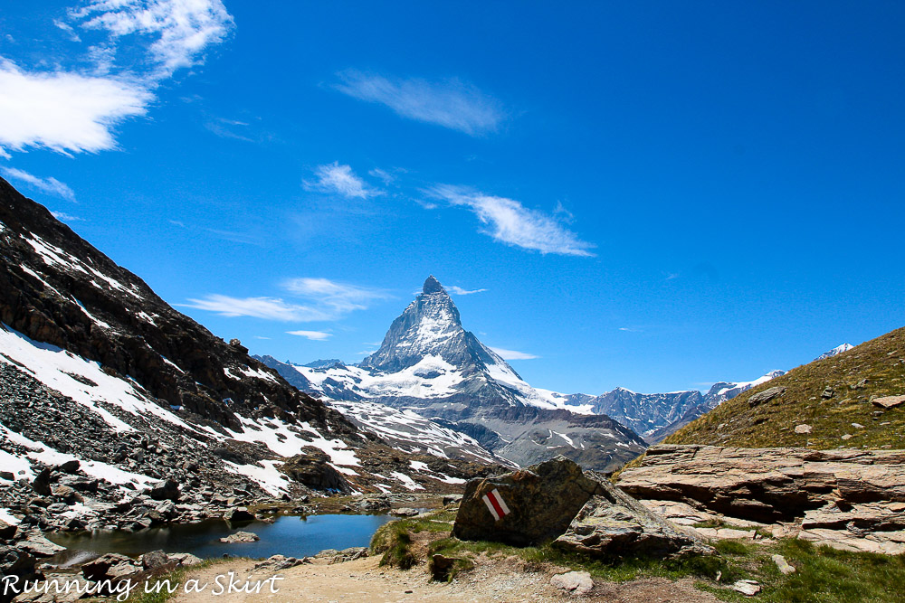Visiting Zermatt and the Matterhorn/ Running in a Skirt