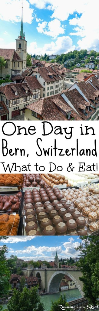 How to Spend One Day in Bern Switzerland / Running in a Skirt
