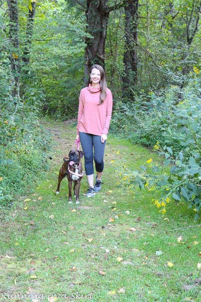 prAna Fall Line / Running in a Skirt