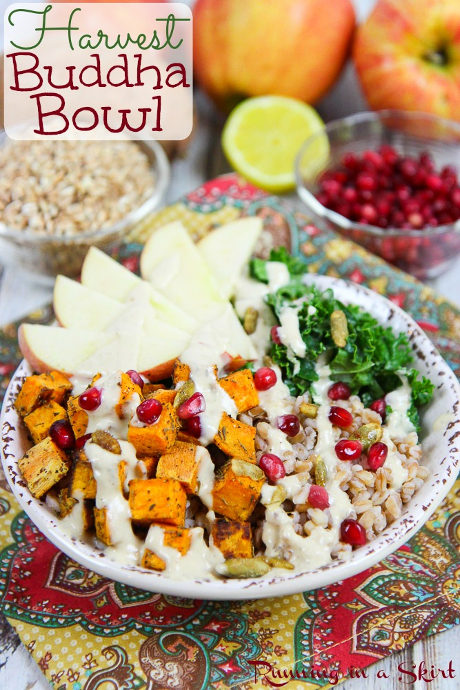 Fall Harvest Bowl recipe / Running in a Skirt