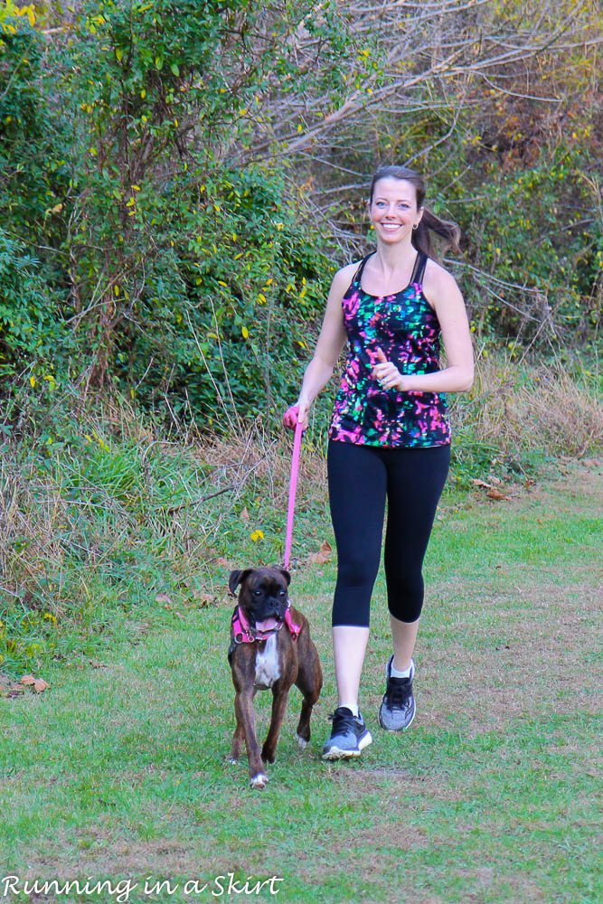 How to Train Your Dog to Run With You / Running in a Skirt