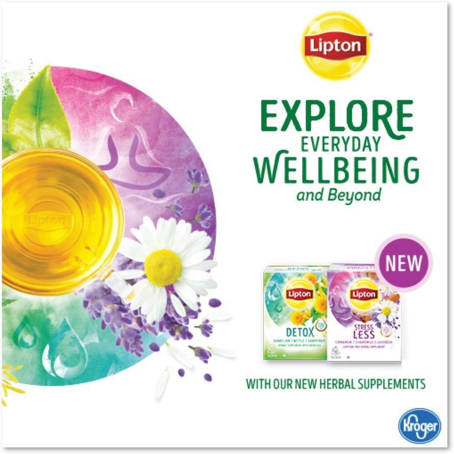 Lipton Herbal Supplements Tea