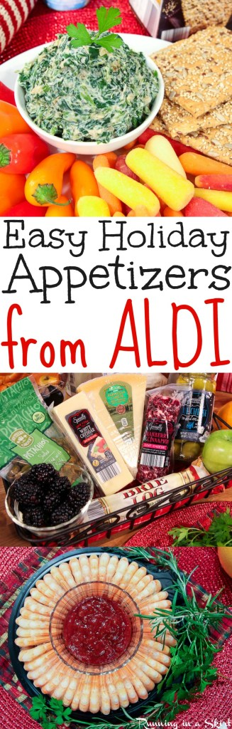 Easy Holiday Appetizer Ideas from ALDI / Running in a Skirt