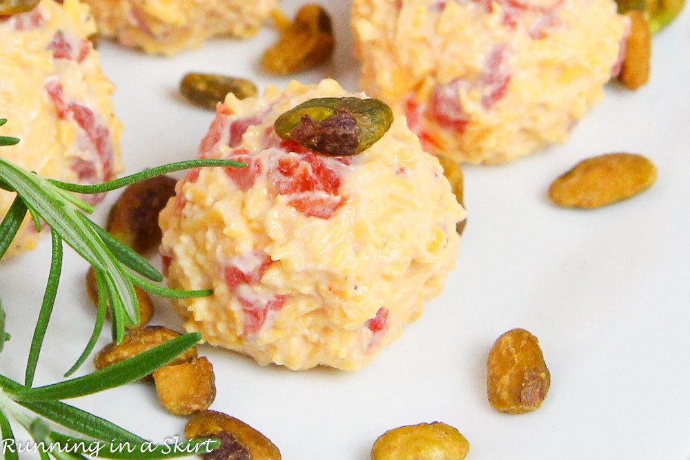 Healthier Pimento Cheese Bites recipe | Running in a Skirt