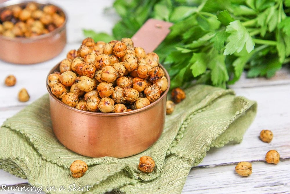 Crispy Ranch Chickpeas