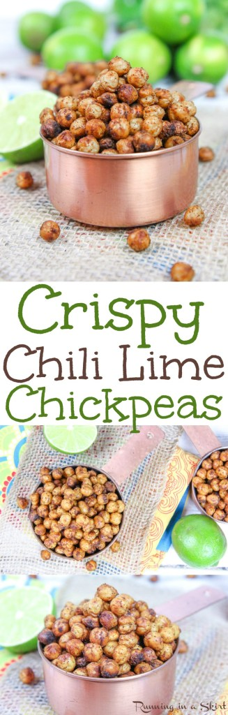 Chili Lime Crispy Chickpea Recipe