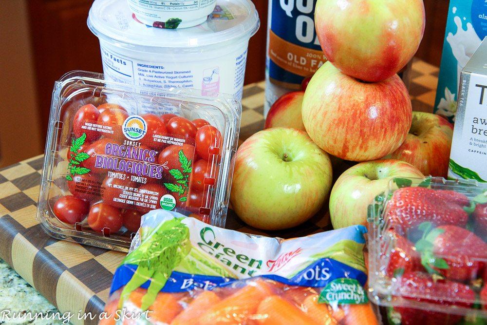 The Best Vegetarian Clean Eating Grocery List
