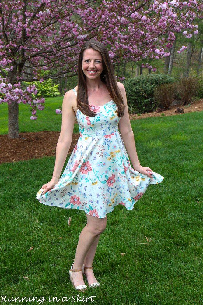 Flower Dress for Spring