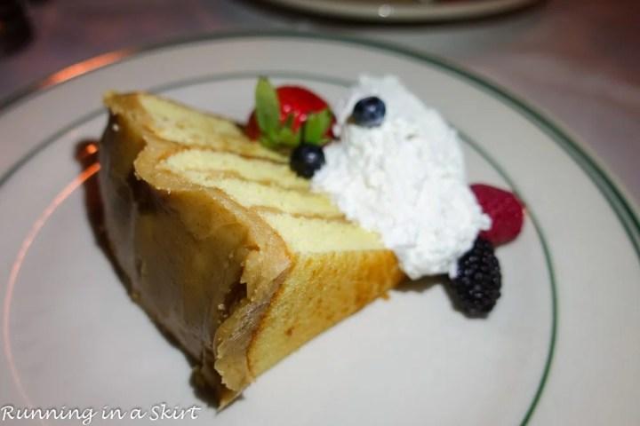 Best Dessert on Hilton Head Island - Charlies' Caramel Cake
