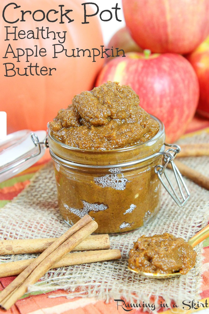 Healthy Crock Pot Apple Pumpkin Butter recipe