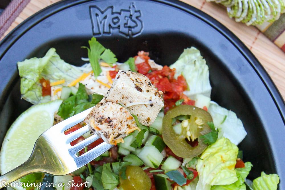 Moes Vegetarian Options