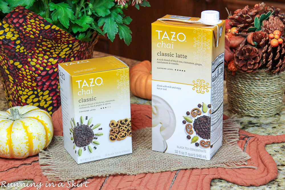 Boxes of Tazo.
