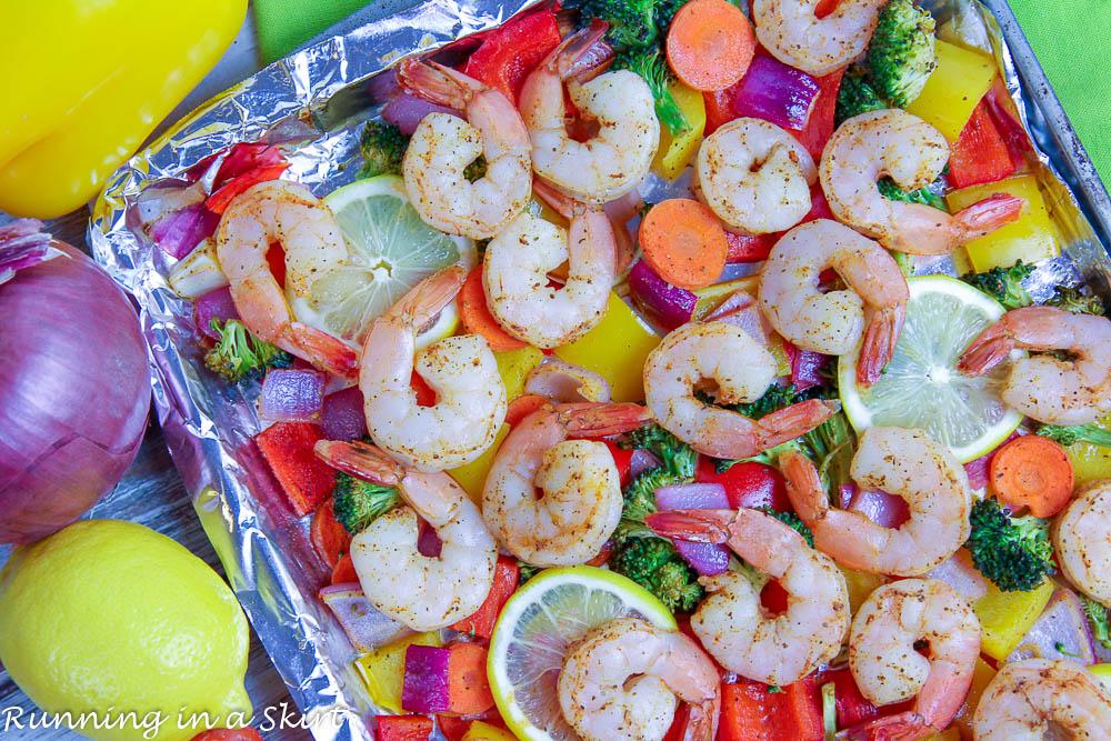 Sheet Pan Shrimp and Vegetables recipe