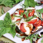 Caprese Stuffed Portobello Mushrooms recipe