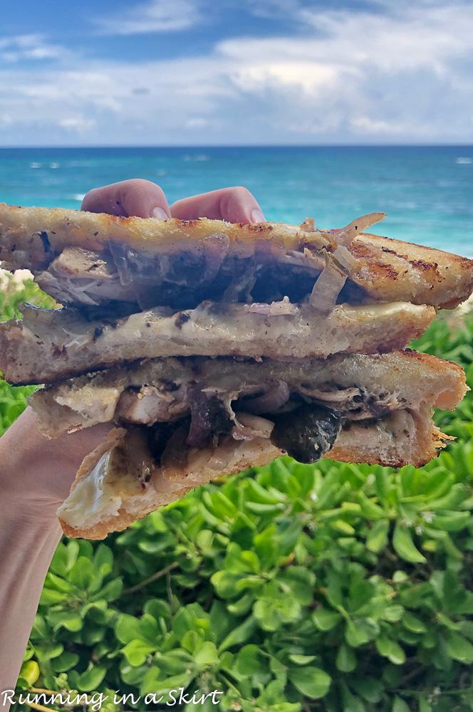 Fish Melt at On Da Beach Elbow Cay Hopetown Bahamas.