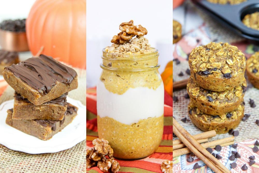Healthy Pumpkin recipes for fall